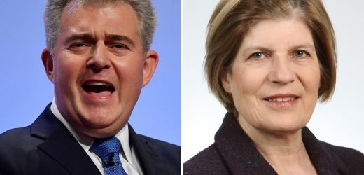 Tory chairman Brandon Lewis faces backlash for shaming a Labour candidate who 'liked' penis picture after her Twitter was 'hacked'