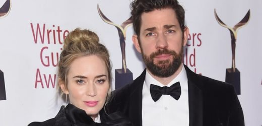 Emily Blunt and John Krasinski Reach Peak Couple Goals in Matching Tuxedos