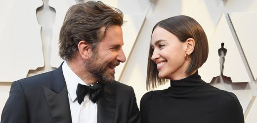 Bradley Cooper and Irina Shayk Looked So in Love on the Oscars Carpet