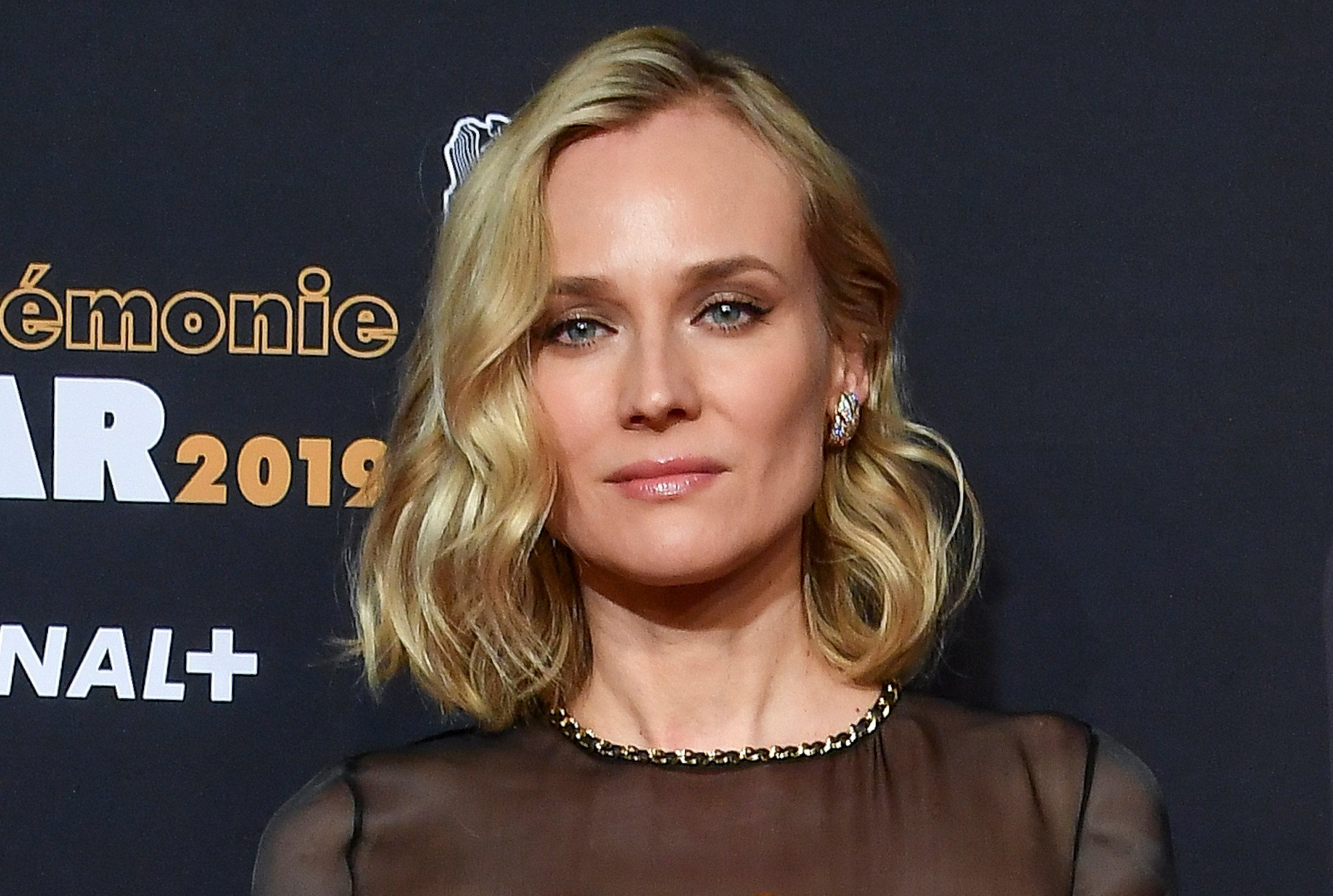 Diane Kruger honors Karl Lagerfeld at 2019 César Awards
