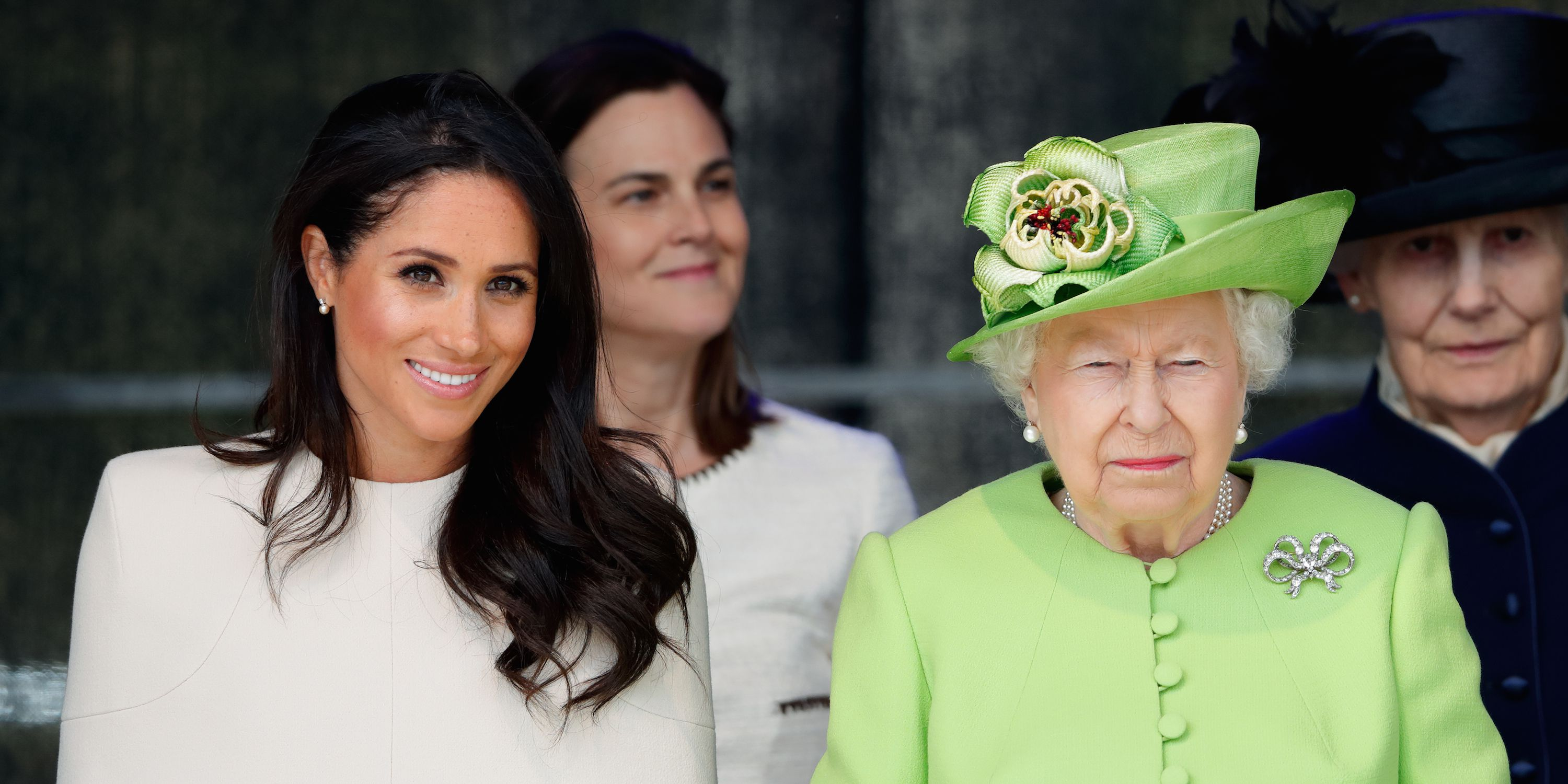 "So, Apparently the Queen Thinks Meghan Markle's Family Drama Is a ""Nightmare"" and Told Her as Much"