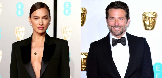 Irina Shayk and Bradley Cooper Slay in Matching Suits at the BAFTAs 2019