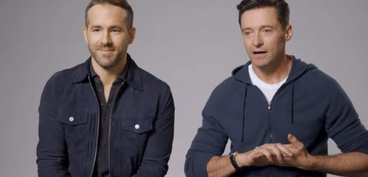 Hugh Jackman Digs His Claws Into Ryan Reynolds, Fails at Ending Fake Feud in Gin Ad