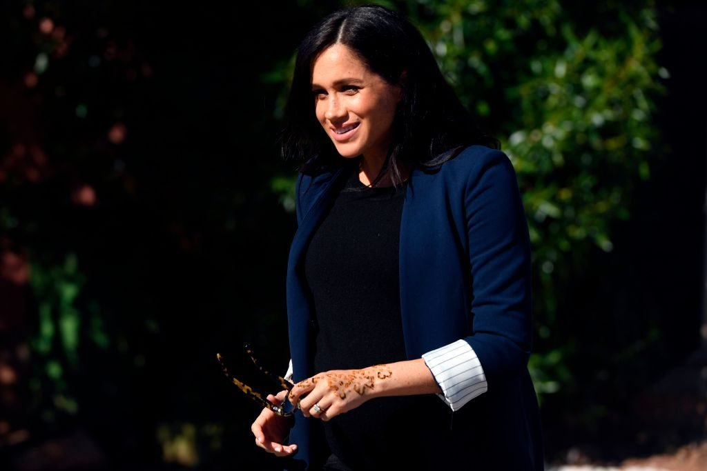 The Special Meaning Behind Meghan Markle's Henna Tattoo