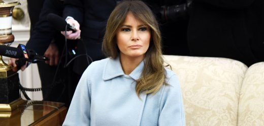 Melania Trump's Latest Outfit Is a Stunner
