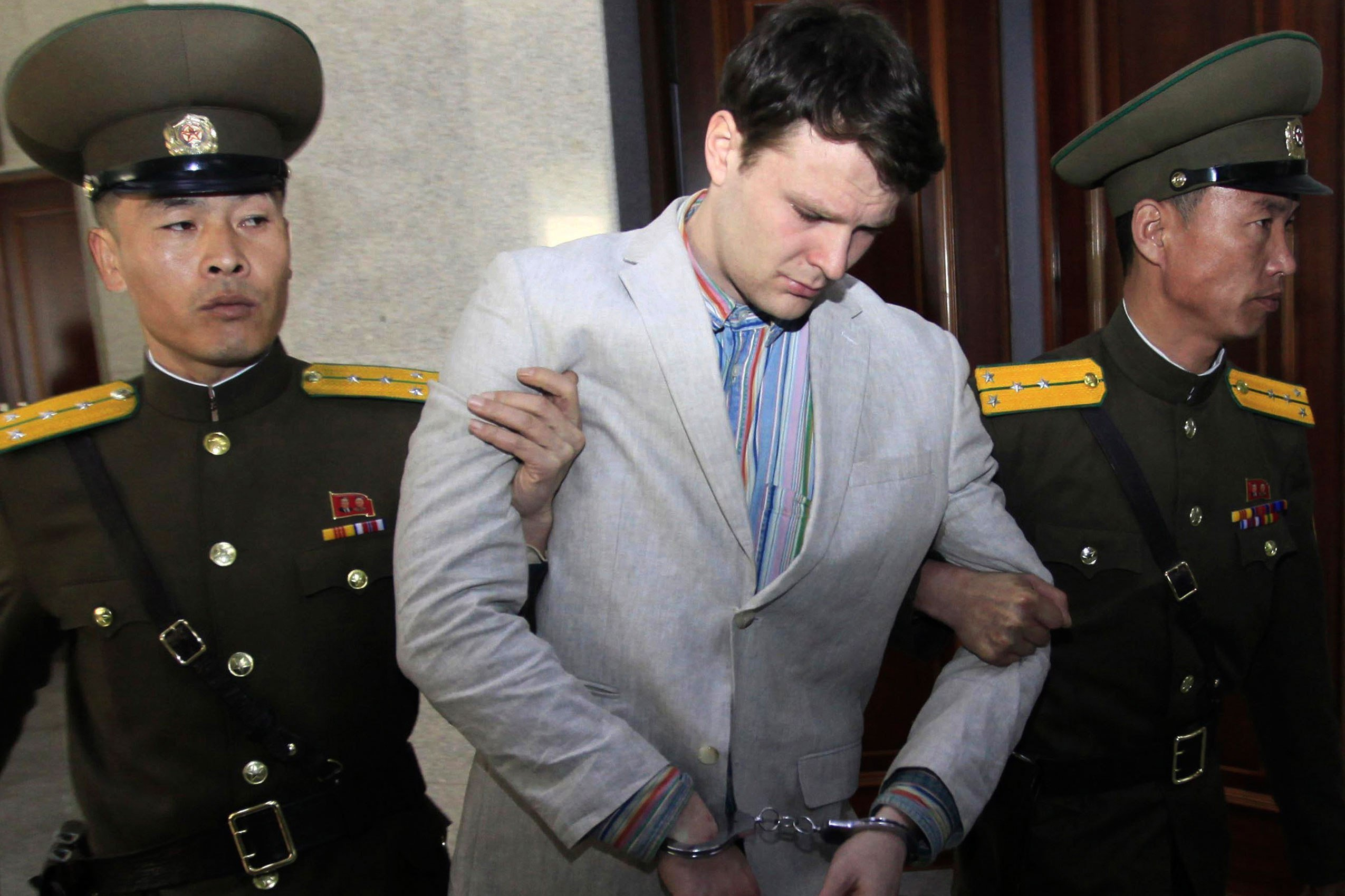 Trump believes Kim had nothing to do with Otto Warmbier's death