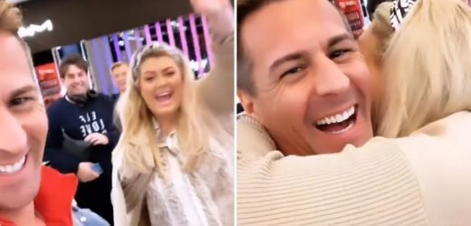 Gemma Collins treats Dancing On Ice partner Matt Evers to a blow-out shopping spree at Harrods to thank him for 'putting up with her'