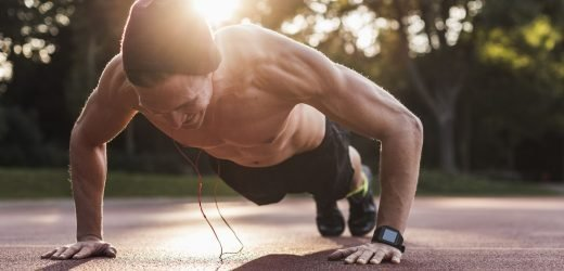 If You Can Do This Many Pushups, You'll Probably Live Longer