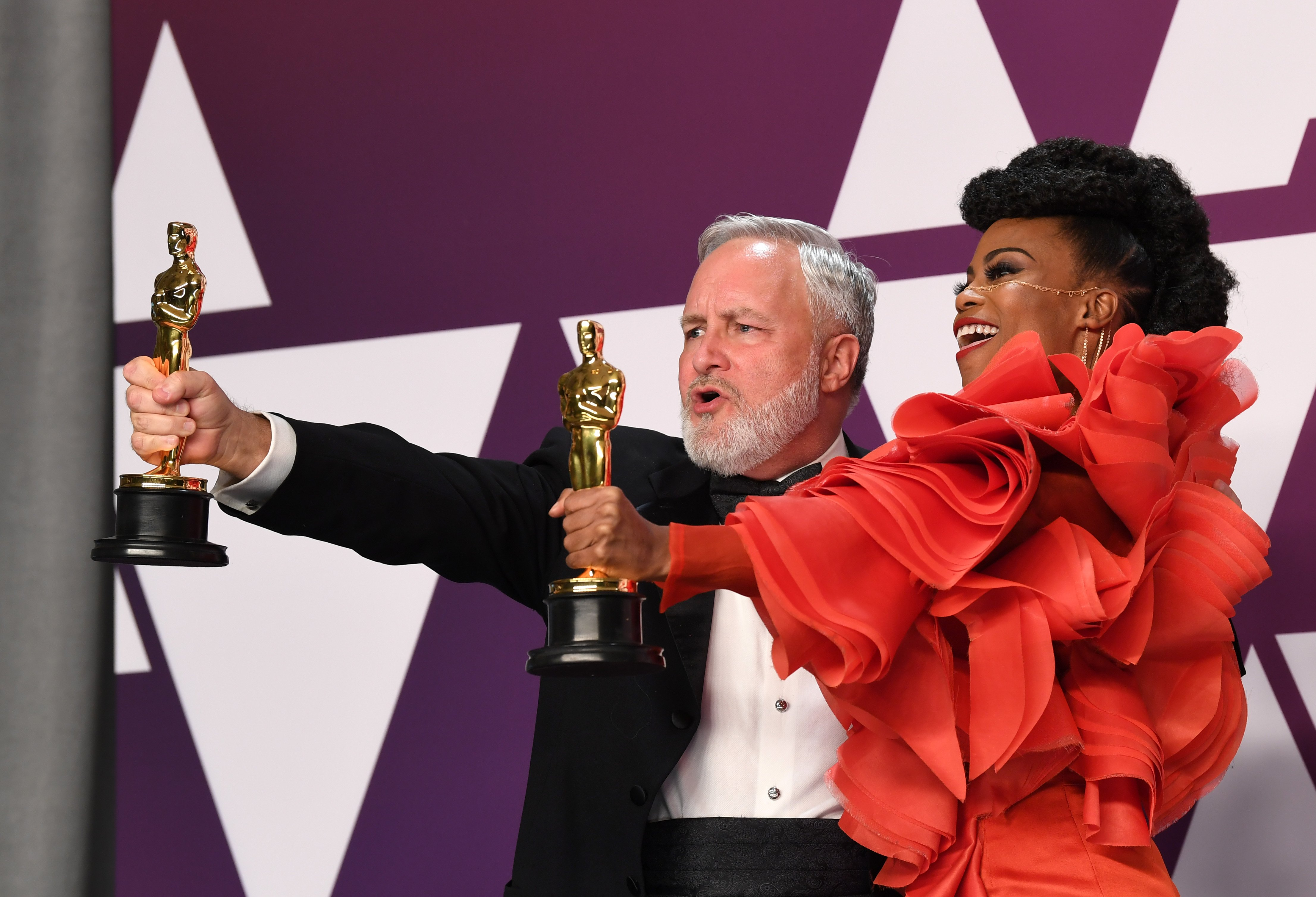 Backstage at the Oscars, Winners Respond to History-Making Wins in a Changing Hollywood