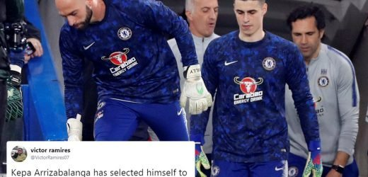 Sarri says he's sent a message to Chelsea players by dropping Kepa for Spurs clash