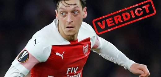 Arsenal verdict: Mesut Ozil shows he can still play a key role this season after recent snubs