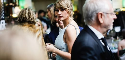 Taylor Swift & Joe Alwyn Pack On The PDA As She Supports Him At BAFTAs After-Party