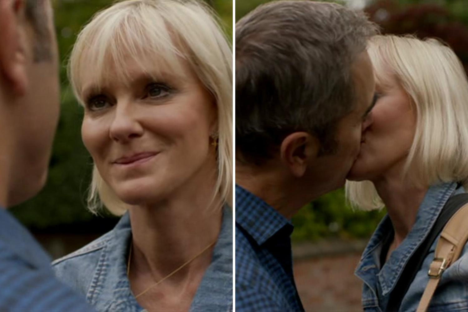 Cold Feet's Karen and Adam finally get together after sharing another kiss – and fans are thrilled