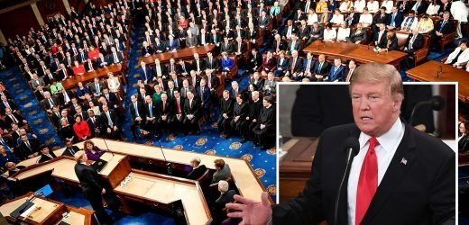State of the Union address – Donald Trump to blast wealthy elite's hypocrisy as they 'push for open borders while living behind walls' in fiery Congress speech