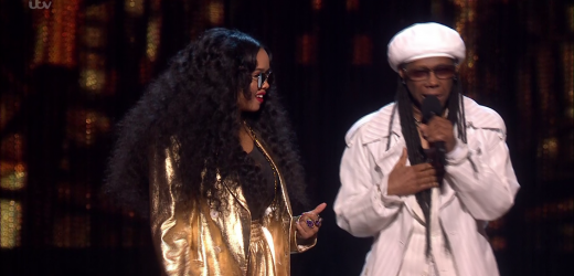 Brits 2019: Nile Rogers' blunder as he announces BREAST British Female Solo Artist and can't read the teleprompter