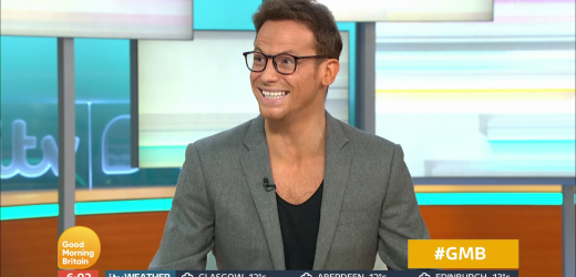 Joe Swash admits he 'lost his clothes somewhere on the A12' on his way to GMB as he presents show in just a vest and suit jacket
