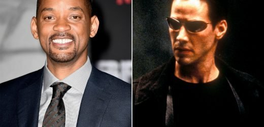 Will Smith explains why he passed on Keanu Reeves' The Matrix role