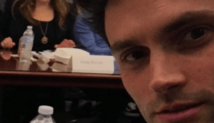 Netflix gives You fans behind the scenes look at season two as Penn Badgley and serial killer Joe's new love interest Victoria Pedretti begin rehearsals