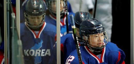 Winter Olympics: Unified Koreas play first hockey game
