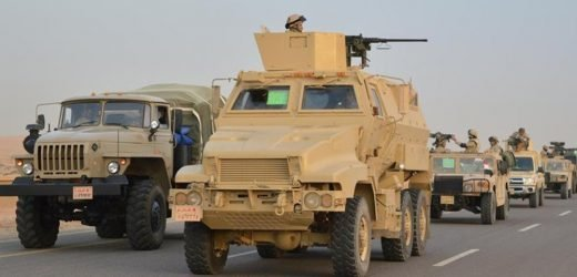 Egypt kills 16 fighters in Sinai military operation