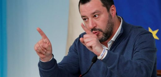 Italy's Salvini says happy to meet Macron to discuss diplomatic row