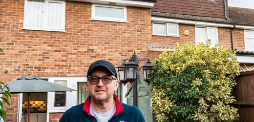 Nightmare neighbour extends house THREE inches onto their property