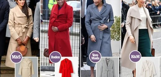 Marks & Spencer launch coat that is JUST like Meghan Markle's