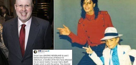 Matt Lucas gets a death threat over Michael Jackson comments