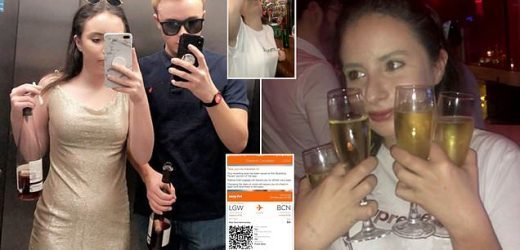 Teenagers on drunken night out end up in Barcelona