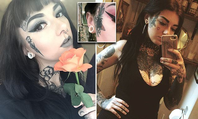 Tattoo artist inked her face so she couldn't do 'normal' job