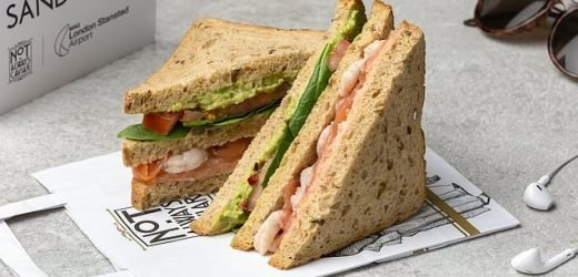 Sky-high sandwich from Stansted Airport tastes better in the air