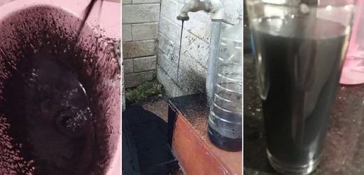 Venezuela's water runs black as local say it is contaminated with oil