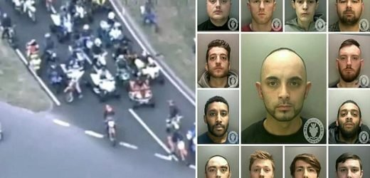 Biker gang who went on rampage through Birmingham are convicted