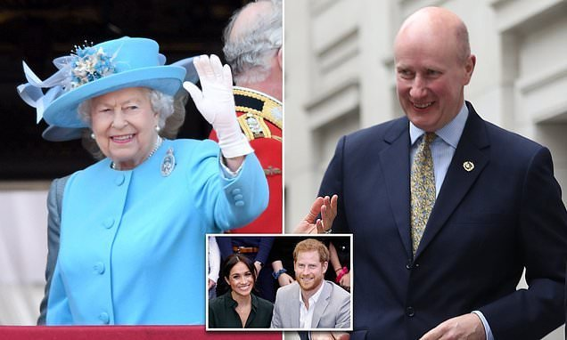 Queen brings loyal lieutenant to 'keep an eye' on Meghan and Harry