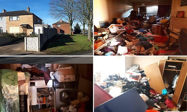 Two-bed house with wall-to-wall trash is one of cheapest homes in UK