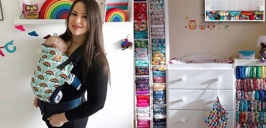 Mother-of-four admits spending up to £160 on cloth nappy collection