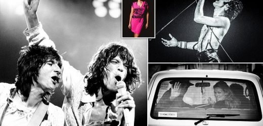 Iconic images capture pop stars in the era when rock really rolled