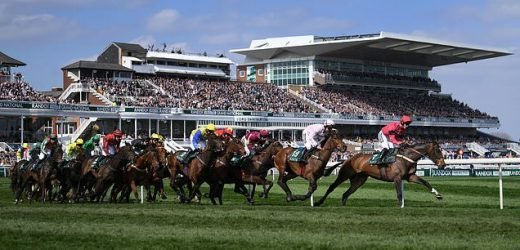 Vandals tear up turf at Aintree just one week before Grand National