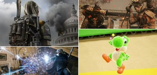 Videogame reviews: Sekiro, Yoshi, The Division 2, and more