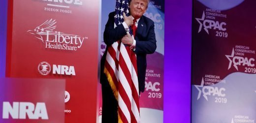 Trump promises CPAC crowd a re-election victory