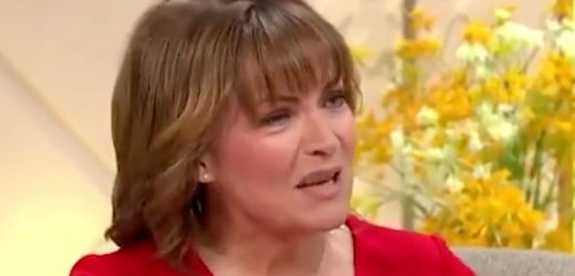 Lorraine Kelly confesses she never takes bra off and viewers fear for her health