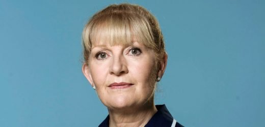 Casualty's Cathy Shipton says Duffy's dementia stopped her fear of the disease