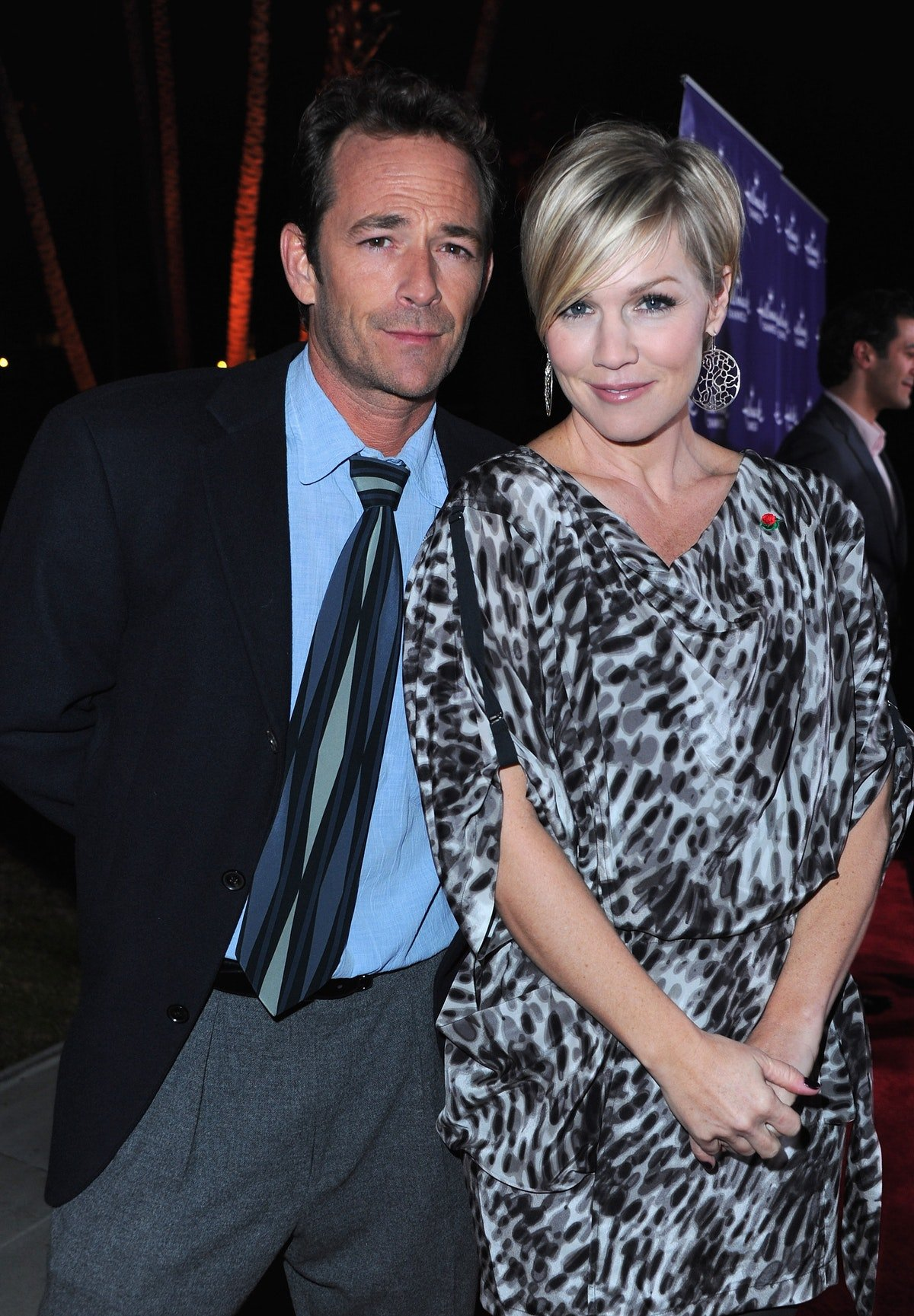 Jennie Garth Shared A Moving Tribute To Her '90210' Costar Luke Perry