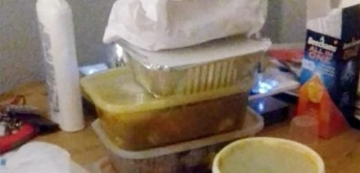 Woman 'tries to sell her leftover Chinese takeaway on Facebook'