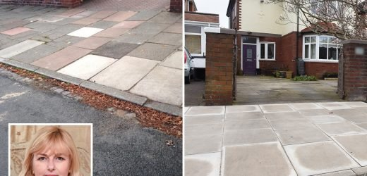 Nurse forced to shell out £800 to council to park on her own drive because access from road was just 5cm too high