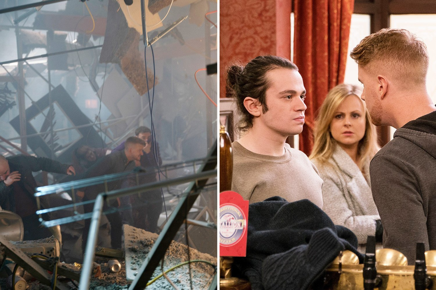 Coronation Street's Gary Windass convinced Seb Franklin caused the roof collapse for revenge, reveals Mikey North