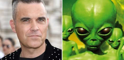 Robbie Williams admits he's afraid of being 'taken over by hitchhiking aliens' after visit to UFO-plagued ranch