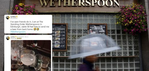 How cheeky pub goers are using Wetherspoons' app to get FREE drinks