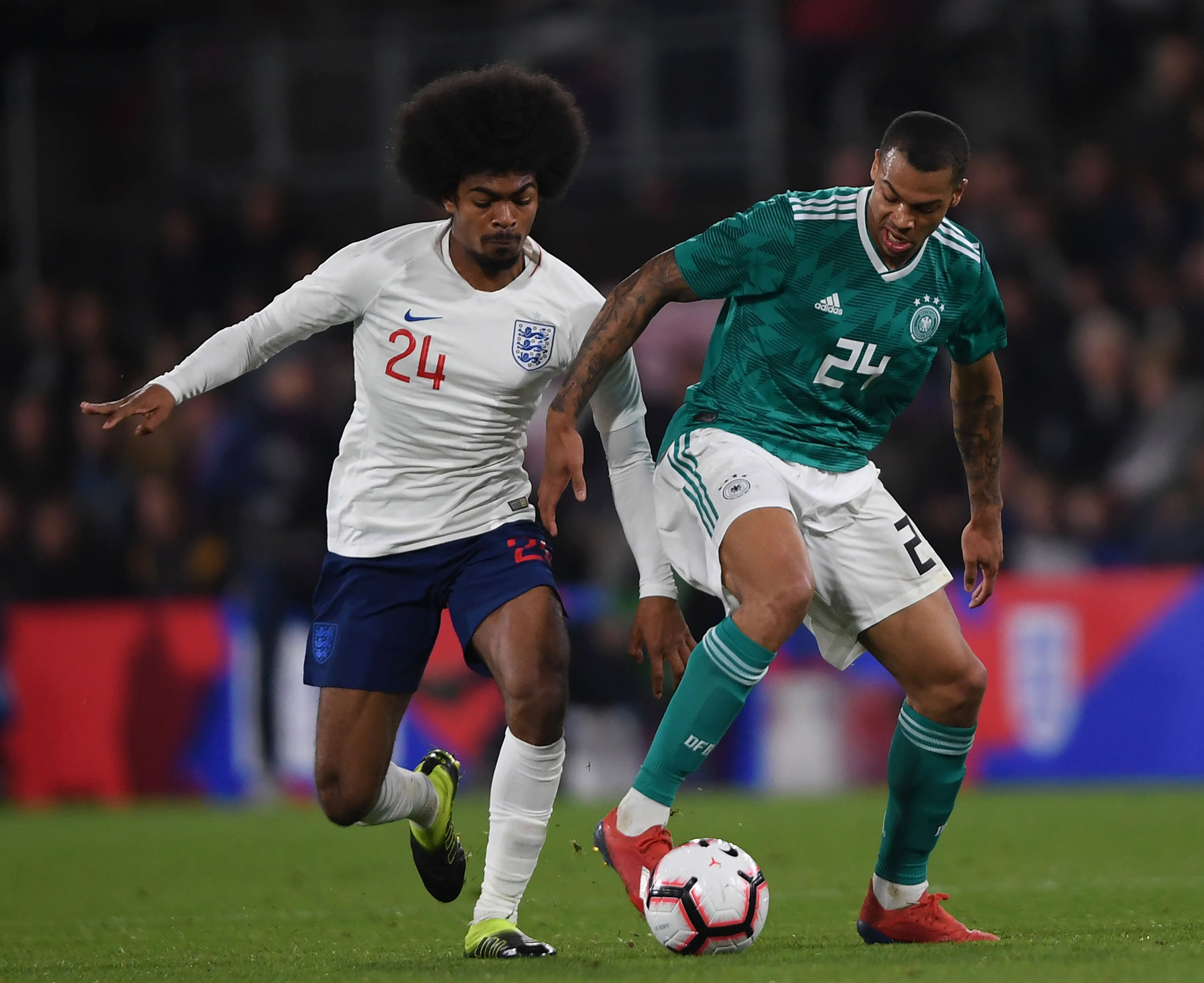 Man City starlet Lukas Nmecha pledges future to Germany despite England U21 caps after playing against Three Lions this week