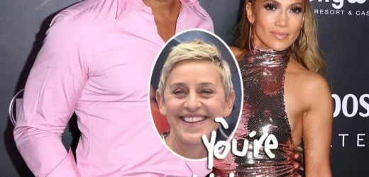 Ellen DeGeneres Takes ALL The Credit For Alex Rodriguez's Proposal To Jennifer Lopez!